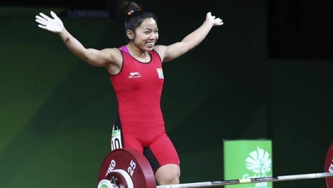 Mirabai Chanu clinches gold at EGAT Cup in Thailand