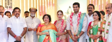 Soundarya Rajinikanth and Vishagan tie the knot