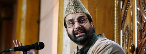 Huriat chief Mirwaiz placed under house arrest