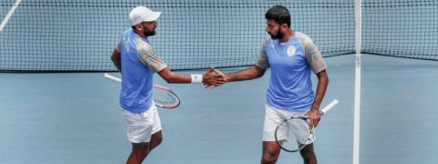 Rohan Bopanna-Divij Sharan duo win for India to keep Davis Cup hope
