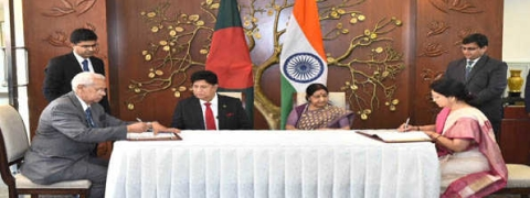 B'desh signs MoU for training 1800 civil servants in India