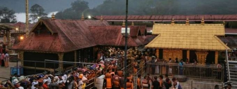 Devaswom chief backtracks, justifies standing by Sabarimala young women entry