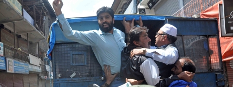 JKLF march foiled, several taken into custody in Srinagar