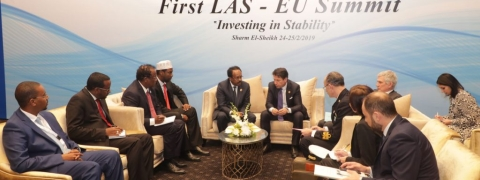 EU-League of Arab States Summit held in Sharm El-Sheikh