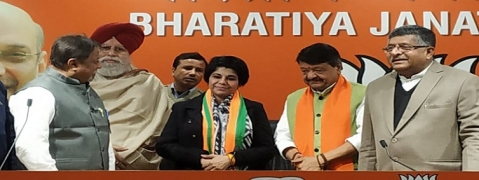 Once a Mamata aide, former IPS officer Bharati Ghosh joins BJP