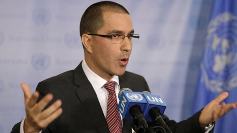 Venezuelan Foreign Minister says discussed humanitarian aid with UN Chief