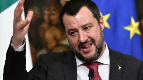 Italian Interior Minister Salvini to meet with Guaido-Led delegation in Rome on Monday