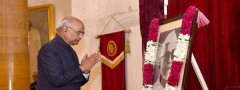 President pays tribute to Dr Zakir Hussain on his birth anniversary