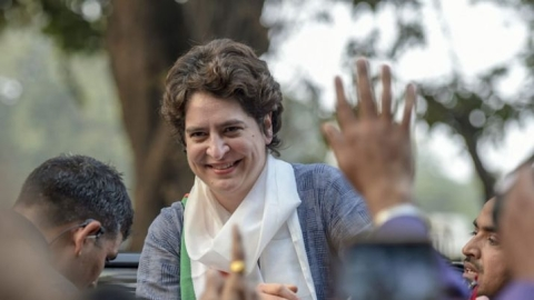 Priyanka embarks on 4-day visit to UP on Monday, to hold roadshow with Rahul