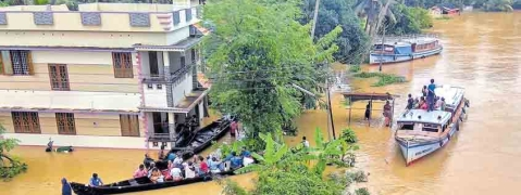 Centre slaps Rs 102cr bill on Kerala for IAF flood rescue services