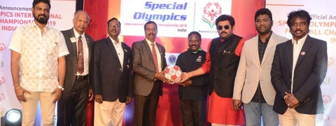 Chennai to host Special Olympics International Football Championship, Logo launched
