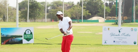 M Dharma on rise, builds two-shot lead in round three
