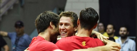 Belgium beat Brazil to reach last stage of Davis Cup