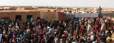45 die of tough humanitarian situation in Syrian camp