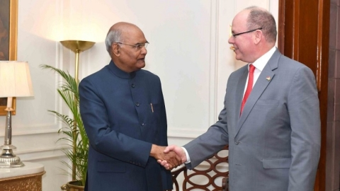 Prince Albert's visit is an impetus to India-Monaco cooperation: President