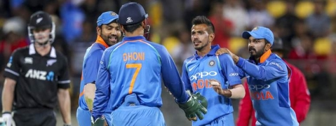 India beat New Zealand in Fifth ODI