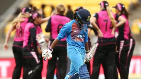 Women T20: Kiwis beat India by 23 runs