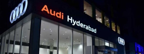 AUDI India opens large showroom in Hyderabad