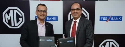 Yes Bank signs MoU with MG Motor in India