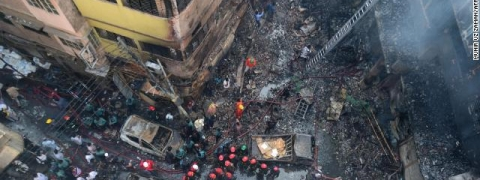 Dhaka fire: Bangladesh one-day state mourning today