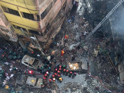 Fire in Dhaka: Death toll mounts to 69