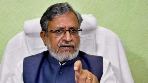 Sushil Modi challenges Shatrughan Sinha to contest coming LS polls