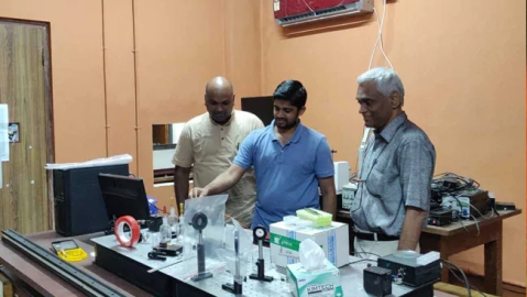 IIT-M Researchers generate lasers from carrots