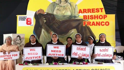 Jalandhar diocese counters apostolic administrator's stay on nuns' transfer till Franco case ends