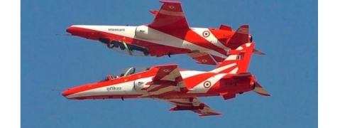 Aero India which began with metal birds flying sans Surya Kiran Aerobatic team