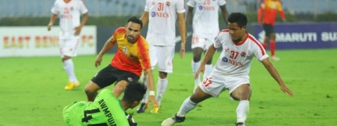Aizawl FC win a point dashing East Bengal title hopes further after 1-1 draw in Hero I-League