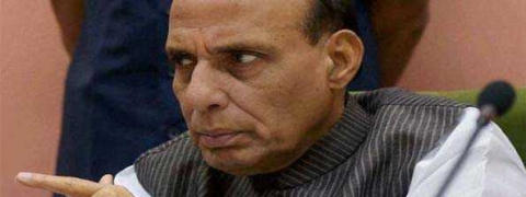 Guv mails report to Rajnath on Bengal development