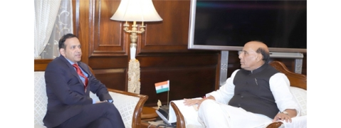 Indian envoy to Pak meets Home Minister, other officials