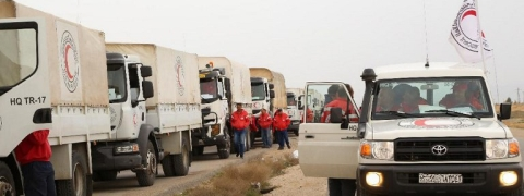 UN convoy reaches remote Syrian settlement