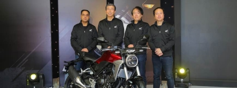 Honda 2-wheelers launches CB300R in India!