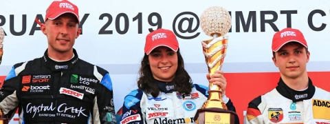 Jamie Chadwick creates history and becomes first female driver to win MRF championship