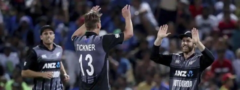 New Zealand beat India by 4 runs, clinch series 2-1