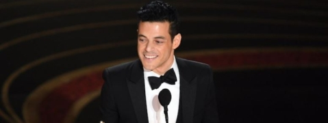 "Oscars: Rami Malek wins Best Actor Award for ""Bohemian Rhapsody"""