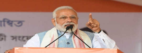 Modi questions Assam media's news coverage