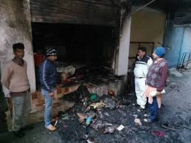 Property worth lakhs gutted in fire at Nagrota Bagwan