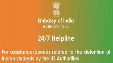 Indian mission in US opens 24X7 helpline for students held in 'pay and stay' scam