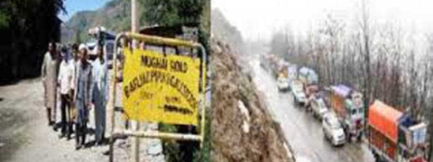 Kashmir highway remains closed for 6th day, Leh, Mughal roads shut