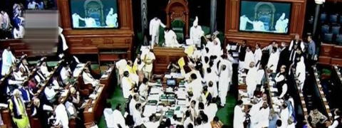 LS adjourned for day after TMC protest on 'misuse of CBI' in West Bengal