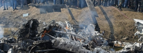 6 IAF personnel,1 civilian killed as plane crashes in Budgam