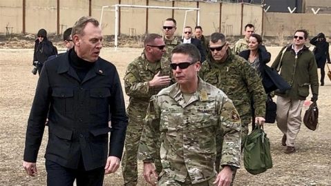 Acting Pentagon chief pays unannounced visit to Afghanistan
