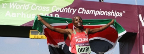 Hellen Obiri makes history in IAAF Cross Country Championships