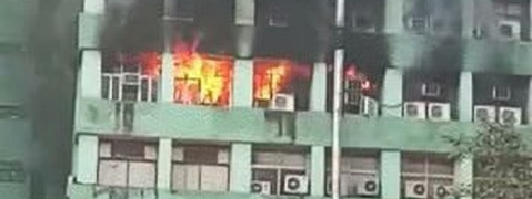Fire breaks out at Delhi's CGO complex; CISF personnel dead