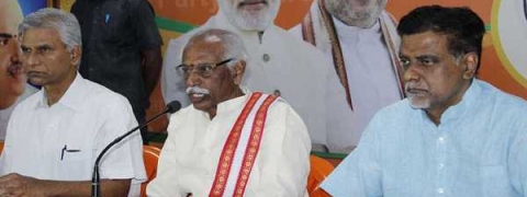 BJP strengthening day-by-day, states Dattatreya