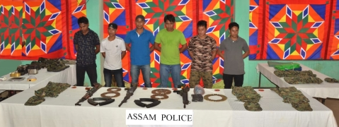 Seven ULFA ultras surrender to security agencies in Assam