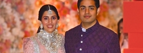 Pre-wedding celebrations for Mukesh Ambani's son in Switzerland