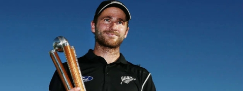 Kane Williamson bags 'Richard Hadlee Medal'